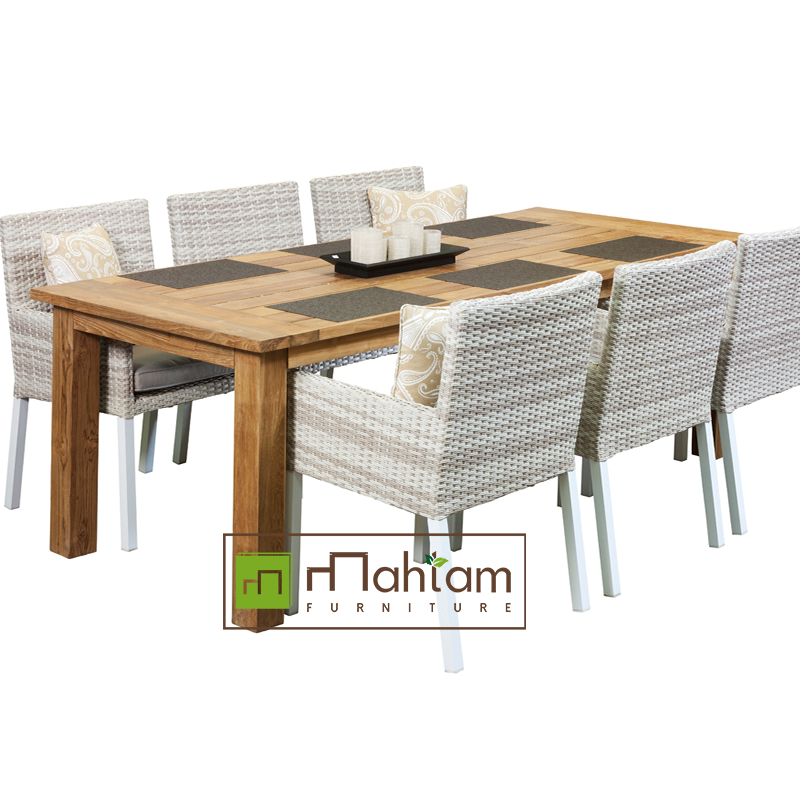 Bar Height Glass Table, Recycled Teak Outdoor Furniture Set Reclaimed Teak Outdoor Furniture